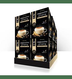 1 3 Cappuccino Ginseng - 10 bustine solubili – Promo 10 confezione + 2 confezioni GRATIS