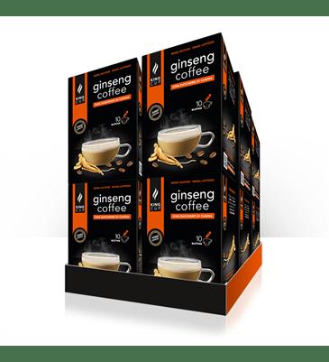 1 Caffè al Ginseng con Zucchero di Canna – Promo 10 confezione + 2 confezioni GRATIS