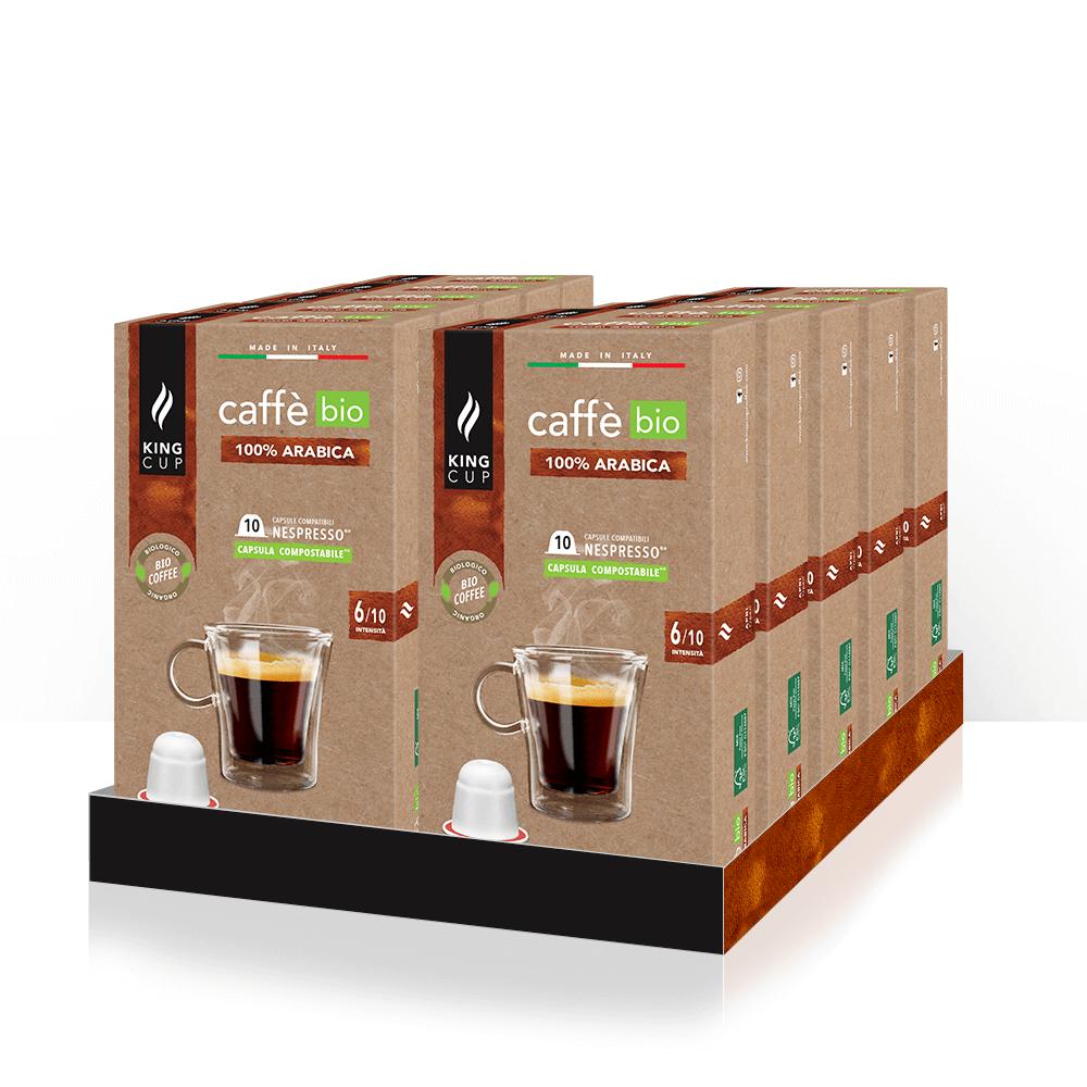 1 Caffè BIO Fairtrade - 100% Arabica – Promo 10 confezione + 2 confezioni GRATIS