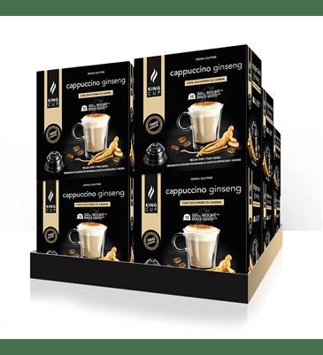 1 Cappuccino Ginseng - capsula Nescafè Dolce Gusto® – Promo 10 confezione + 2 confezioni GRATIS