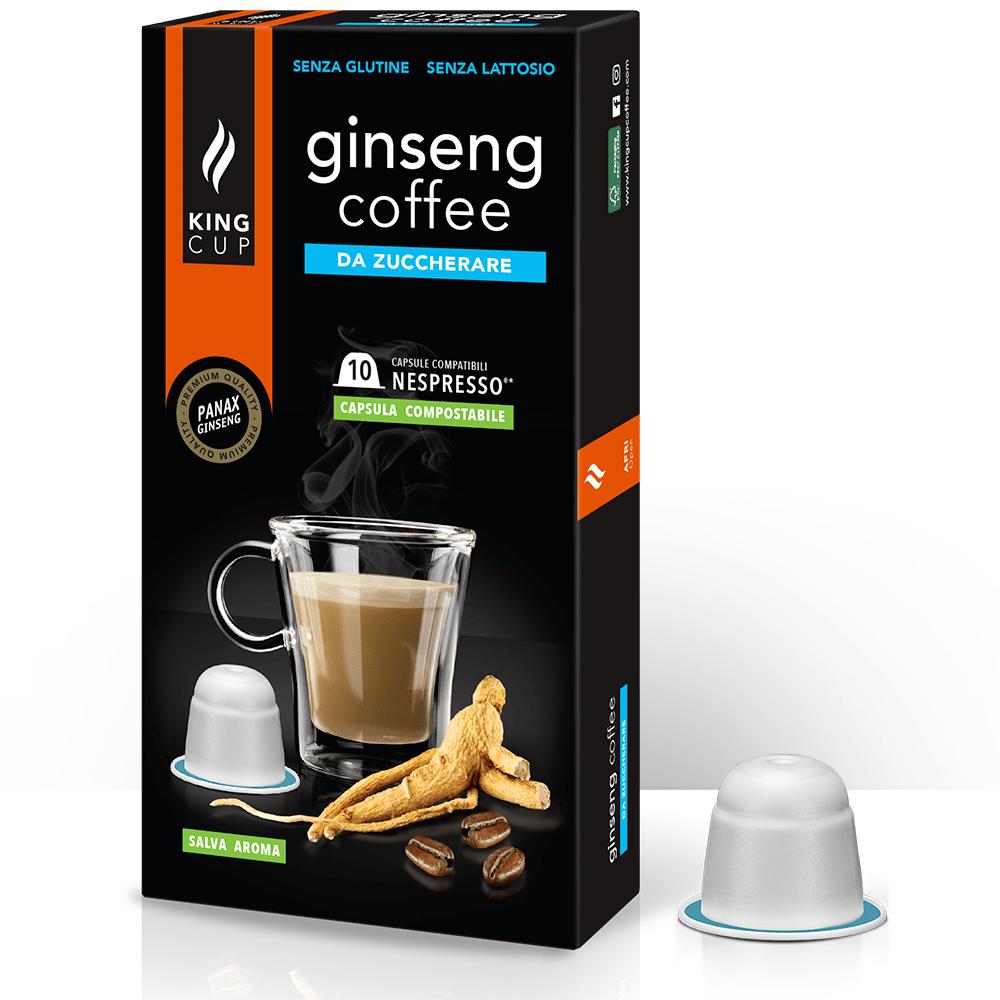 1 Capsule-Ginseng-Nespresso - Zuccherare SZ