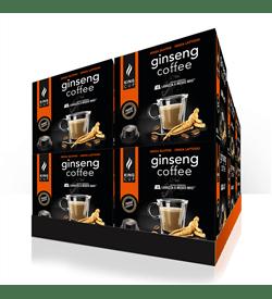 1 Ginseng Coffee con Zucchero di Canna Lavazza® A Modo Mio® – Promozione 10 confezione + 2 Confezioni GRA