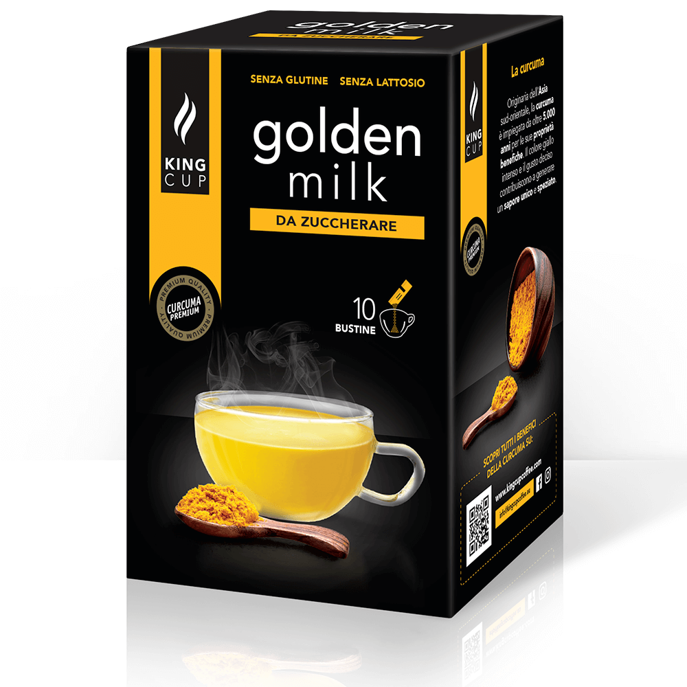 1 Golden Milk - 10 bustine solubili