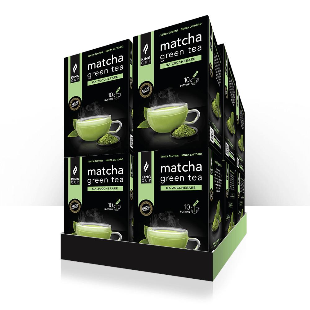 1 Matcha Green Tea - 10 bustine solubili – Promo 10 confezione + 2 confezioni GRATIS