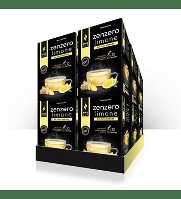 1 Zenzero Limone - 10 bustine solubili – Promo 10 confezione + 2 confezioni GRATIS