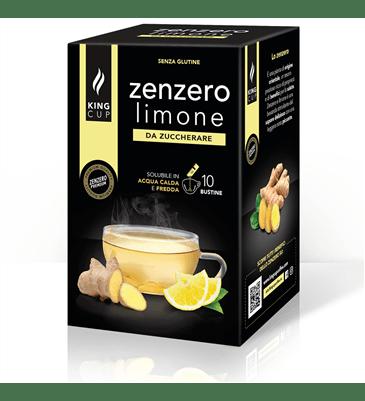 1 Zenzero Limone - 10 bustine solubili