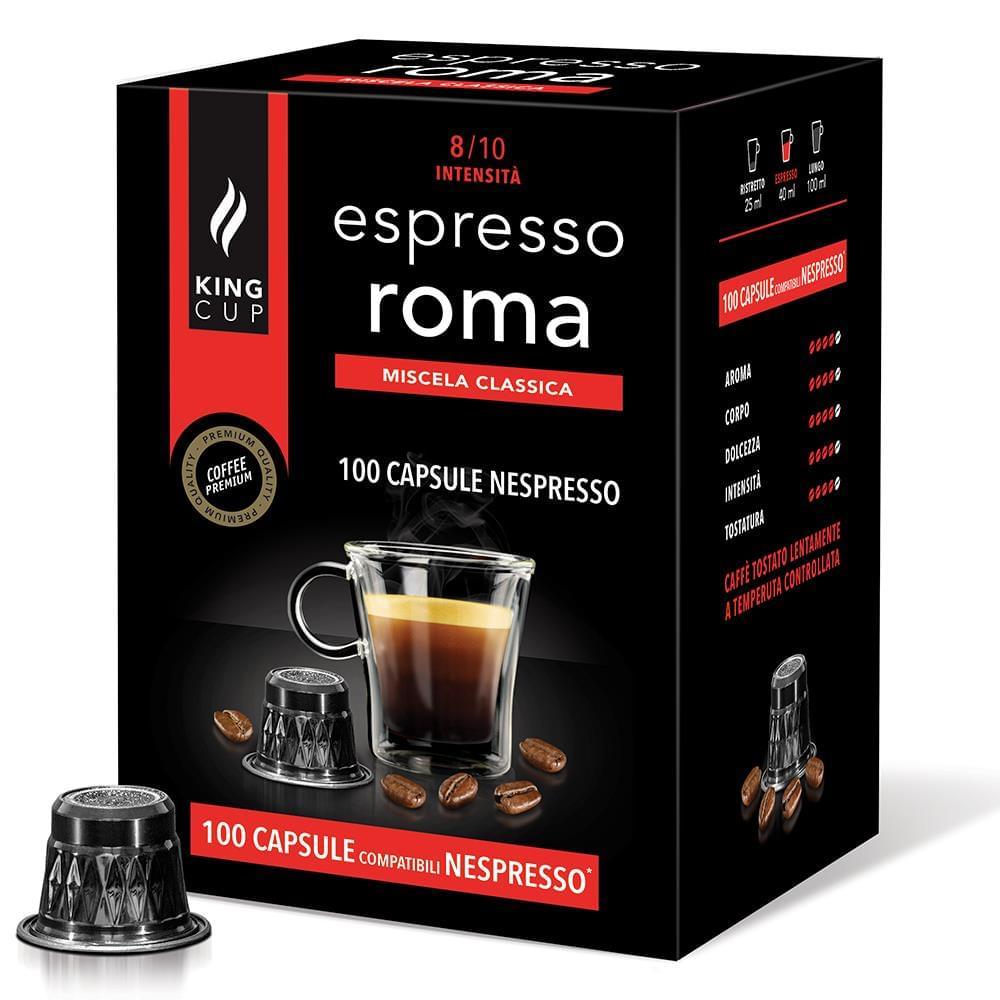 100 Nespresso Roma