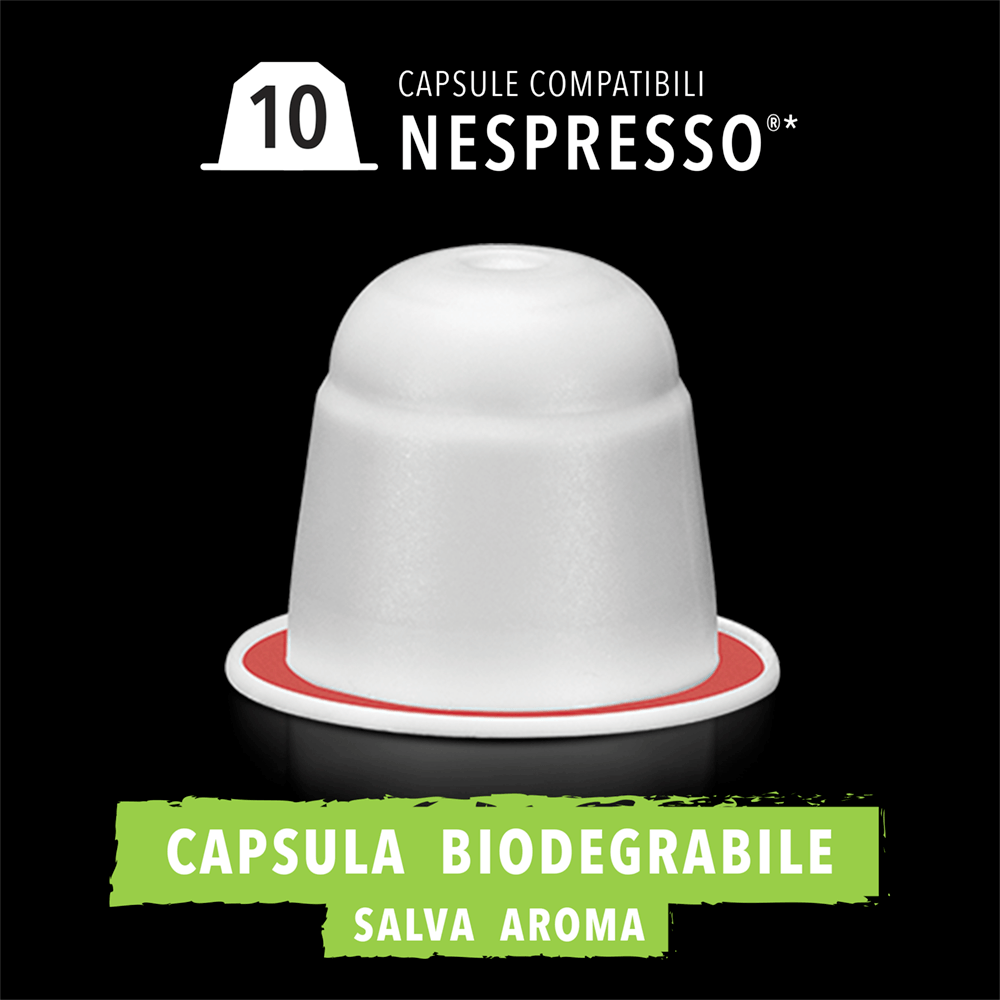 4 Caffè Biologico capsula biodegradabile King Cup