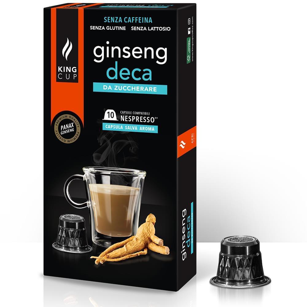 Capsule-Ginseng-deca Nespresso - Zuccherare SZ