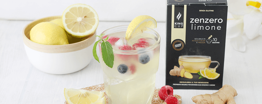 Free cocktail zenzero limone King Cup
