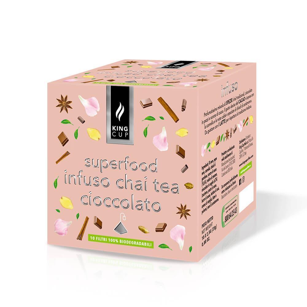 Infuso chai tea cioccolato