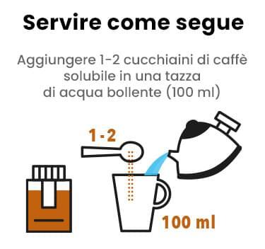 Mobile Caffè Freeze Dried