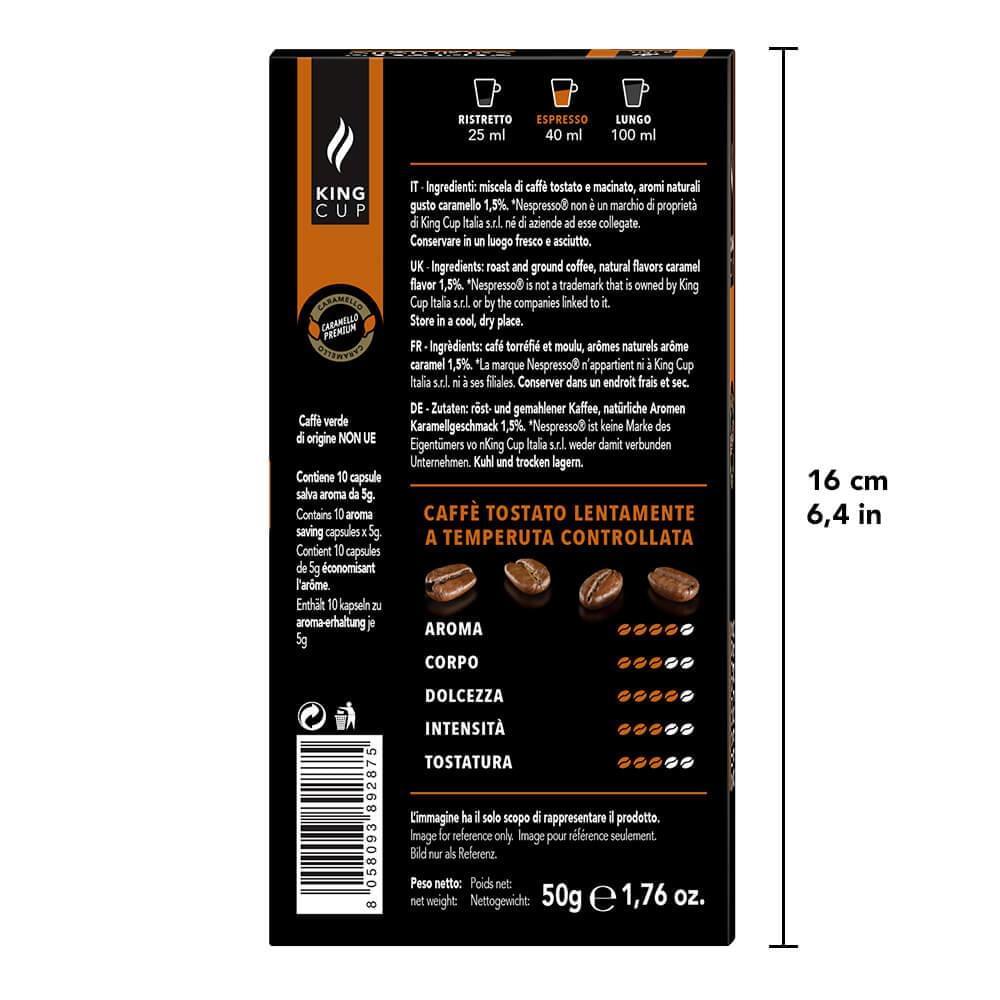 Nespresso - Caffe Caramello Back