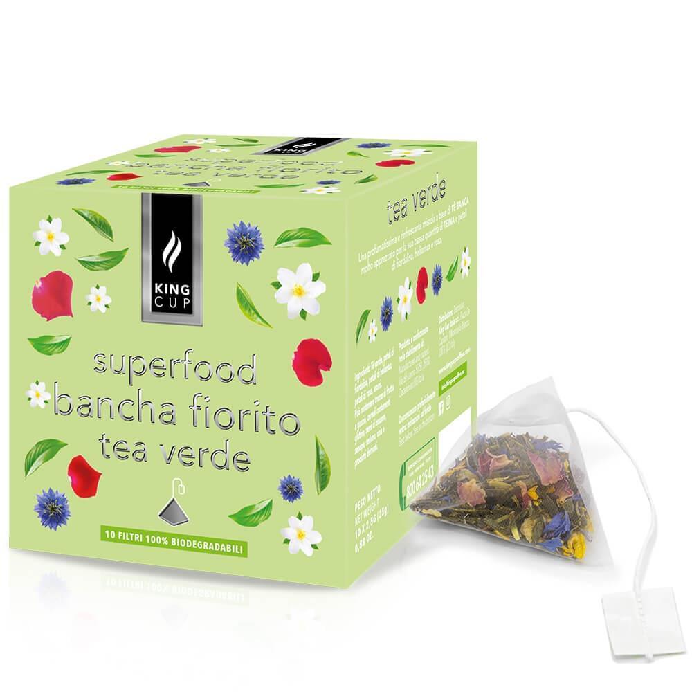 Tea bancha fiorito