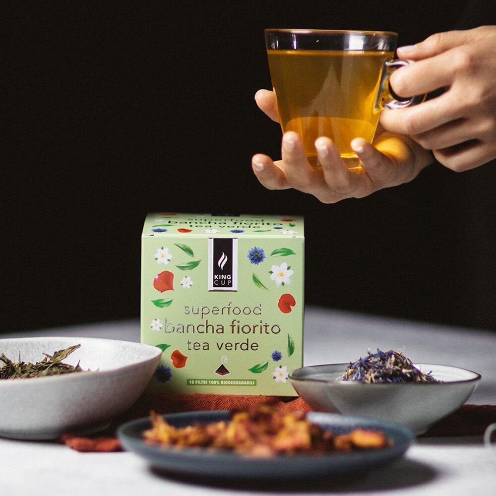 Tea verde Bancha Fiorito 1