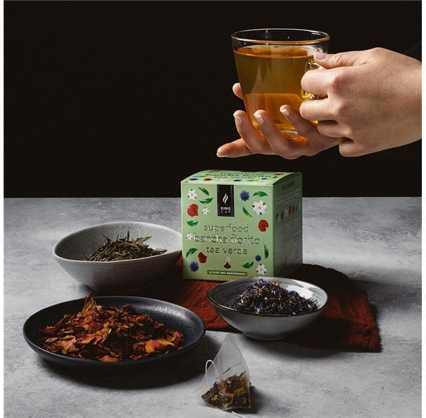 Tea verde Bancha Fiorito 2